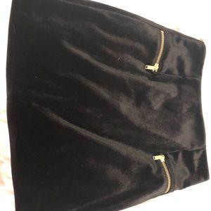 Dresses & Skirts - Black Velvet Skirt